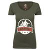 Bikeunit Crew T-Shirt Dam grå